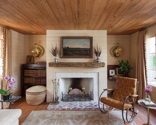 Fotos de salones dise os de salones de estilo de casa de - Salones de casas de campo ...
