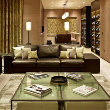 Contemporary Family Room by FiSHER iD