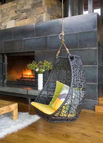 Rustic Living Room By Studio 80 Interior Design Part 70