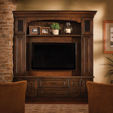 Traditional Living Room by Dura Supreme Cabinetry