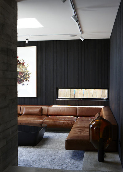 Contemporary Living Room by Andrew Meiring Architects