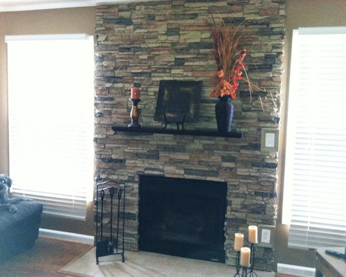 SaveEmail Faux Stone Accent Walls