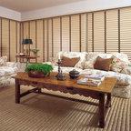 Open Floor Plan Shabby Chic Style Living Room San