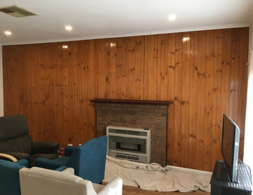 Feature Wall Repaint