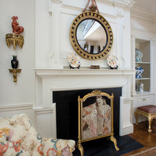 Traditional Living Room by Hull Historical