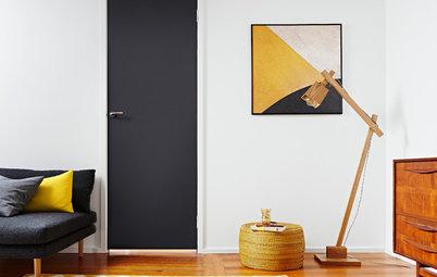 10 Esempi che ti Faranno Desiderare una Porta Tutta Nera