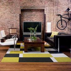 Modern Living Room by FLOR