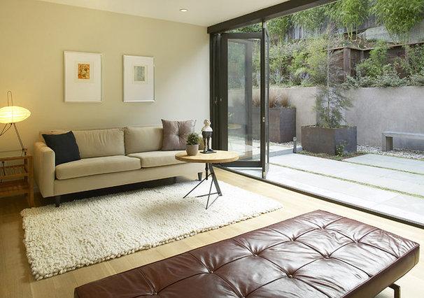 Modern Living Room by Feldman Architecture, Inc.