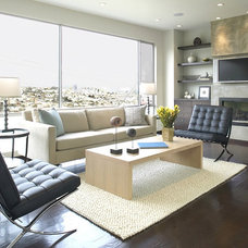 Modern Living Room by Feldman Architecture, Inc.