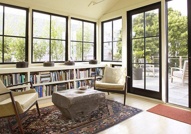 Contemporary Living Room by Feldman Architecture, Inc.