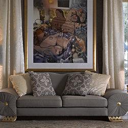 Felipe sofa - Designed and manufactured by Coleccion Alexandra.