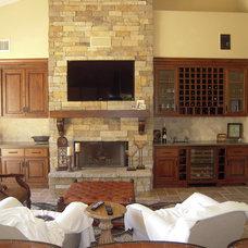 Contemporary Living Room by Ferguson Construction