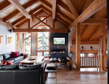 Fernie Modern Timberframe