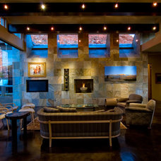 Modern Living Room by McQuay Architects