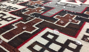 Fiber ProTector after professional rug cleaning, Navajo Rug