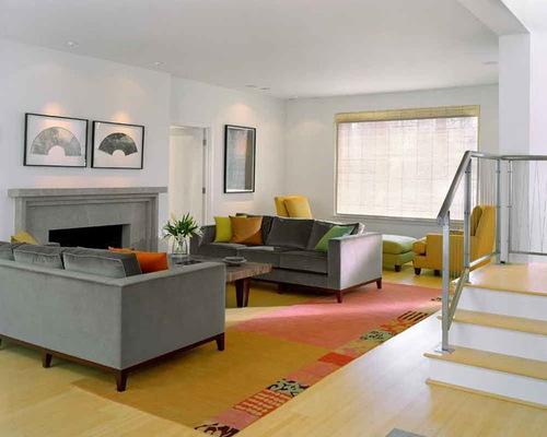 Blue Gray Sofa   Houzz