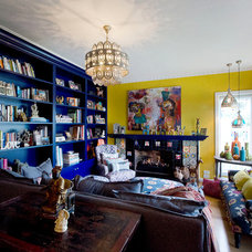 Eclectic Living Room by Key Piece