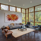 Bahamian Open House Tropical Living Room Other By