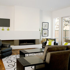 modern living room by 2Stone Designer Concrete