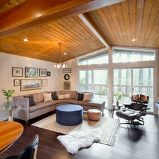 Midcentury Living Room by Josh Partee | Architectural Photographer