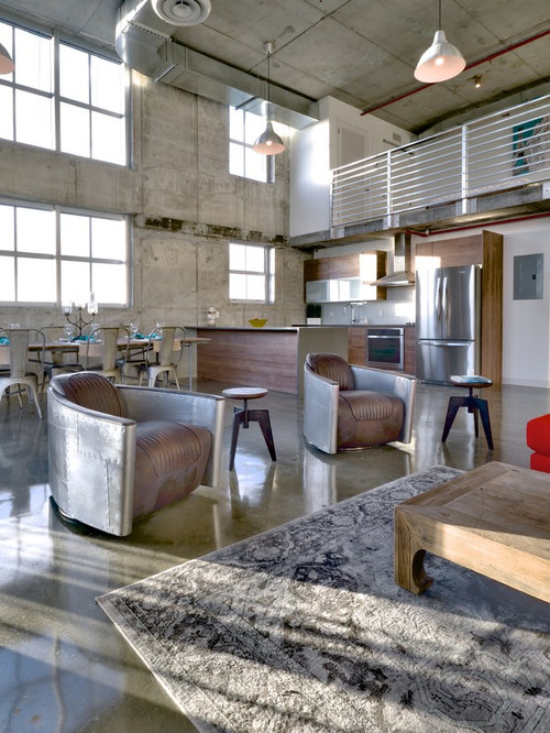 Industrial Chic Interiors | Houzz