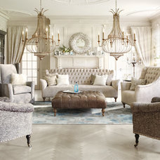 Eclectic Living Room by Arhaus