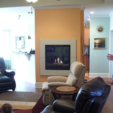 Eclectic Living Room by COASTROAD Hearth & Patio
