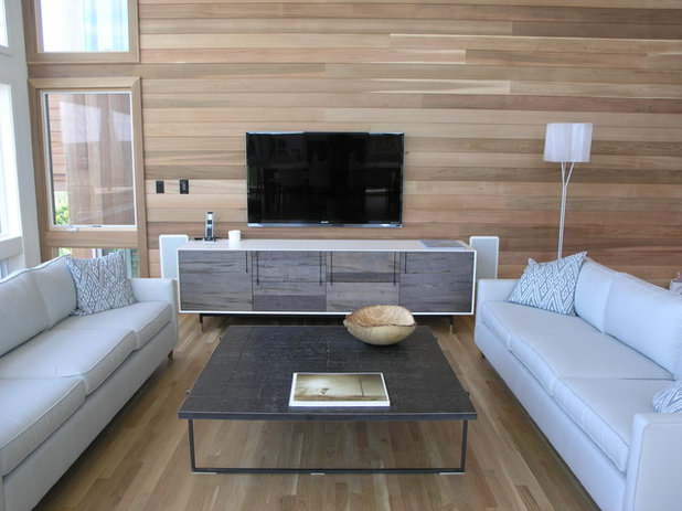 Contemporary Living Room by GDG Designworks