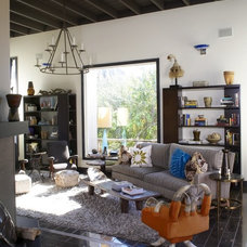 Eclectic Living Room by Shields & Company Interiors