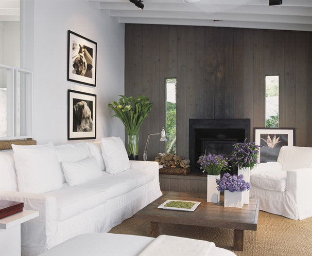 Modern Living Room by Bruce Bierman Design