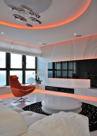 Contemporain Salon by Planika Fires