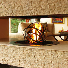Contemporary Fireplace Accessories by Aztec Artistic Productions