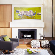 Modern Living Room by Kristina Wolf Design
