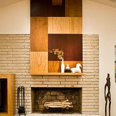Contemporary Living Room by Renewal Design-Build