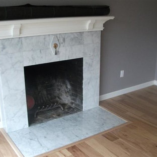 Fireplace & Kitchen Remodel