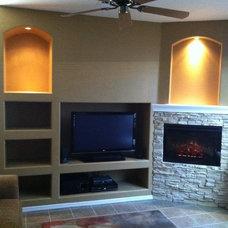 Traditional Living Room by Novak Home Improvements LLC