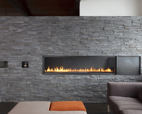 Split Face Stone Fireplace Ideas Pictures Remodel And Decor