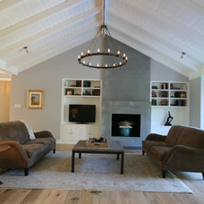 Contemporary Living Room by Distinctive Wood Crafts