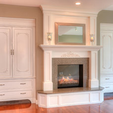 Traditional Living Room by Brunsell Lumber & Millwork
