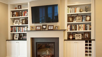 Fireplace cabinetry, Capitol Riverfront, DC