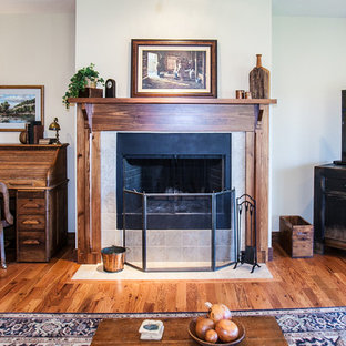 Fireplace Craftsman Country Ranch Home in Wildwood, Missouri