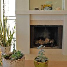Beach Style Living Room by Dana Nichols