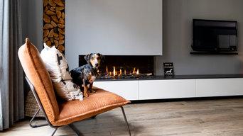 Fireplace design by our partnerdealer Openhaardencentrum Deurne