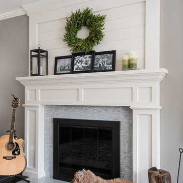 Fireplace, First Floor Remodel