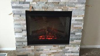 Fireplace in Boyne City, MI
