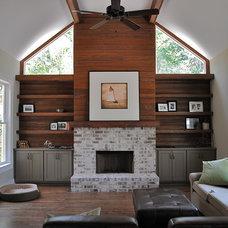 Contemporary Living Room by J.W. York Homes