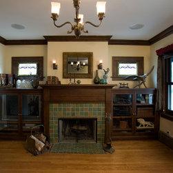 Fireplace Mantel and Surround -