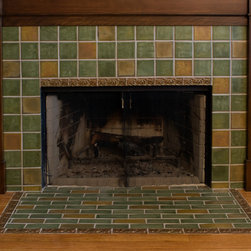 Fireplace Mantel and Surround -