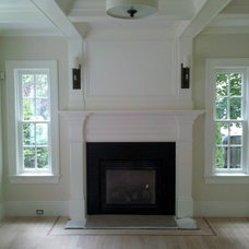 Living Room by Custom Home Finish