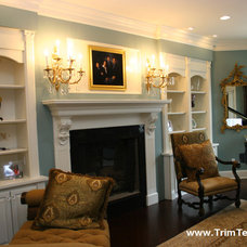 Living Room by Trim Team NJ